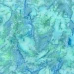 HOFFMAN - Bali Watercolors - Parakeet - K80019-
