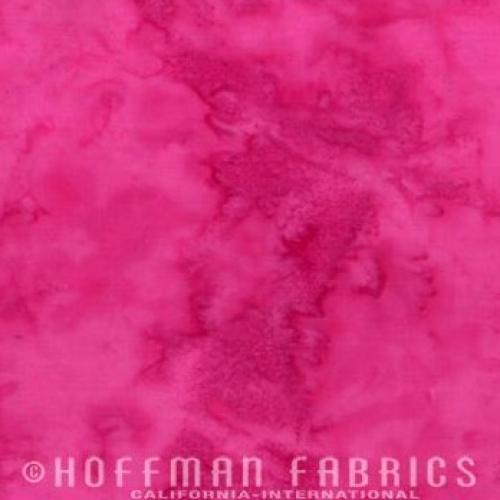HOFFMAN - Batik - Raspberry - K12-