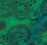 QUILTING TREASURES - Avalon - 108 inches - Filigree - Green