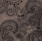 QUILTING TREASURES - Avalon - 108 inches - Filigree - Grey
