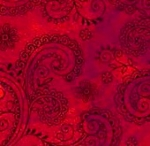 QUILTING TREASURES - Avalon - 108 inches - Filigree - Red