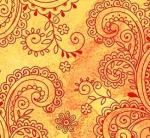 QUILTING TREASURES - Avalon - 108 inches - Filigree - Sunny