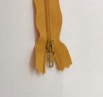 12in Mustard Zipper