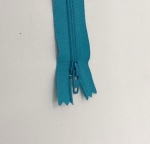 12in Turquoise Zipper