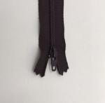 12in Dark Chocolate Zipper