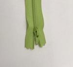 12in Light Green Zipper