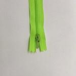 12in Neon Green Zipper