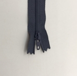 12in Dark Gray Zipper