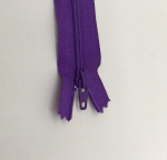 12in Bright Purple Zipper