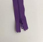 12in Purple Zipper