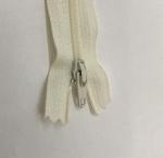12in Cream Zipper