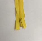 12in Bright Yellow Zipper