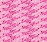 MODA FABRICS - Love Grows - Pink Love
