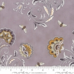 MODA FABRICS - Bee Joyful - Floral Dove Grey