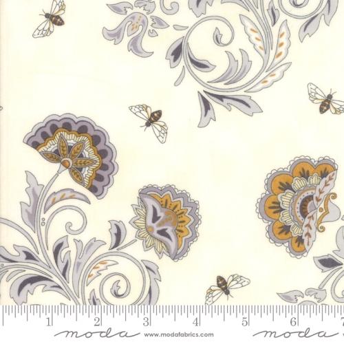 MODA FABRICS - Bee Joyful - Floral Parchment
