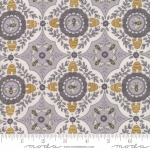 MODA FABRICS - Bee Joyful - A Bee's World Dove Grey