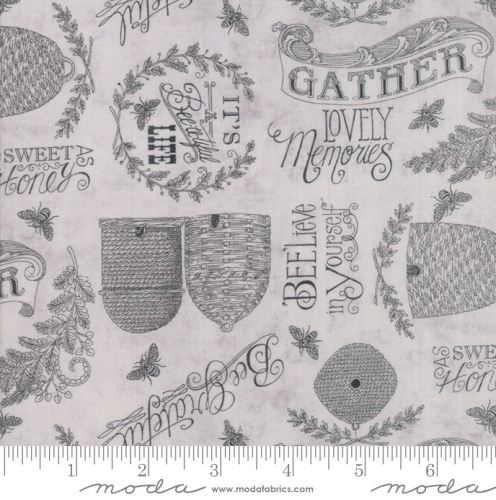 MODA FABRICS - Bee Joyful - Joyful Dove Grey