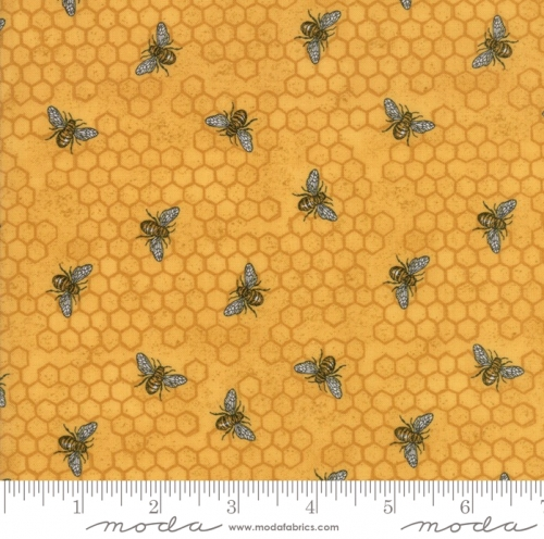 MODA FABRICS - Bee Joyful - Bee Hive Honey - #2524-