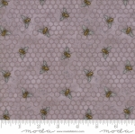 MODA FABRICS - Bee Joyful - Bee Hive Dove Grey