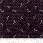 MODA FABRICS - Bee Joyful - Bee Hive Ebony