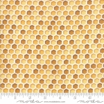 MODA FABRICS - Bee Joyful - Honeycomb Honey