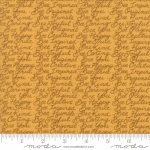 MODA FABRICS - Bee Joyful - Words Honey - #2526-