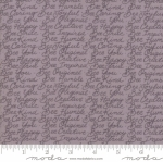 MODA FABRICS - Bee Joyful - Words Dove Grey - #2527-