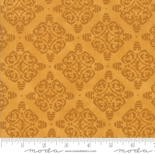 MODA FABRICS - Bee Joyful - Motif Honey