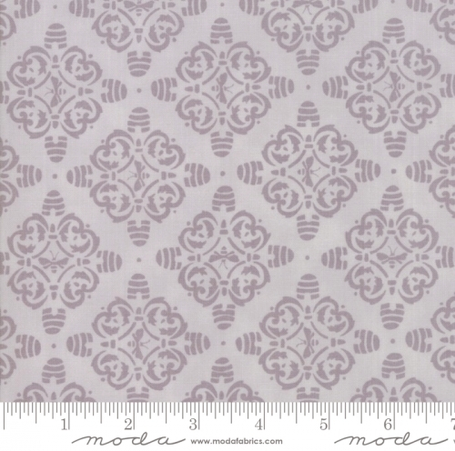 MODA FABRICS - Bee Joyful - Motif Dove Grey