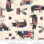 MODA FABRICS - Land That I Love - Cream Farm Animals