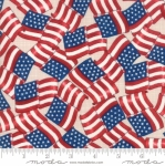 MODA FABRICS - Land That I Love - Beige Flags