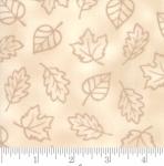 MODA FABRICS - Thankful by Deb Strain - Seasonal Autumn Monotone Leaves - Natural - Ivory