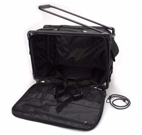 Tutto Large Black Machine on Wheels by Tutto Luggage DROP SHIP
