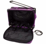 Tutto Large Purple Machine on Wheels by Tutto Luggage DROP SHIP