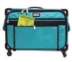 Tutto Large Turquoise Machine on Wheels by Tutto Luggage DROP SHIP