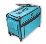 Tutto Medium Turquoise Machine on Wheels by Tutto Luggage DROP SHIP