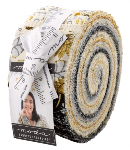 Bee Grateful Jelly Roll by Deb Strain Moda Precuts