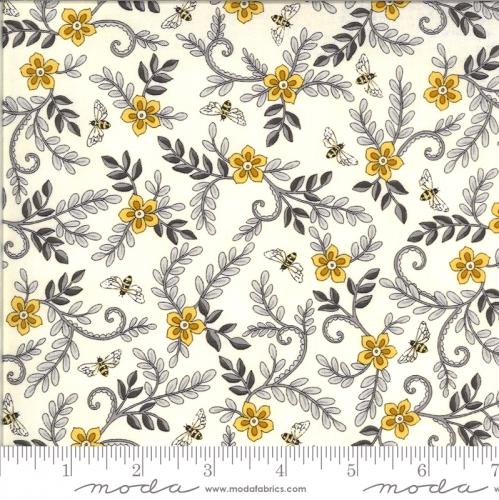 MODA FABRICS - Bee Grateful by Deb Strain - Parchment