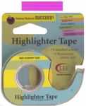 Removable Highlighter Tape - Fluorescent Purple 1/2in x 20yds