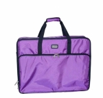 Tutto Large Embroidery Module Bag Purple by Tutto Luggage DROP SHIP