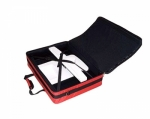 Tutto Large Embroidery Module Bag Red by Tutto Luggage DROP SHIP