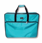 Tutto Large Embroidery Module Bag Turquoise by Tutto Luggage DROP SHIP