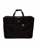 Tutto X-Large Black Embroidery Project Bag by Tutto Luggage DROP SHIP