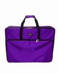 Tutto X-Large Purple Embroidery Project Bag by Tutto Luggage DROP SHIP