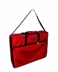 Tutto X-Large Red Embroidery Project Bag by Tutto Luggage DROP SHIP