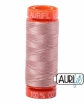 Aurifil - Antique Blush Cotton Mako 50wt 200m