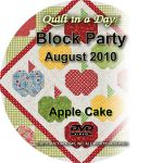 Strip TZZ - August - Apple Cake - DVD
