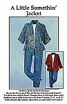 A Little Somethin Jacket by Karen Nye CNT Pattern Co