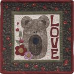 The Wooden Bear Quilt Designs: February: Be My Honey
