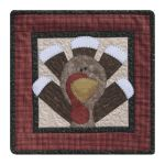 The Wooden Bear Quilt Designs: November: Who, Me?